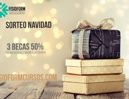 SORTEO DE NAVIDAD FISIOFORM CURSOS FISIOTERAPIA