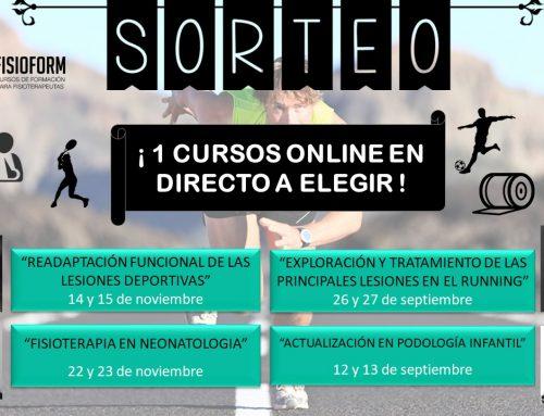 SORTEO CURSO ONLINE EN DIRECTO