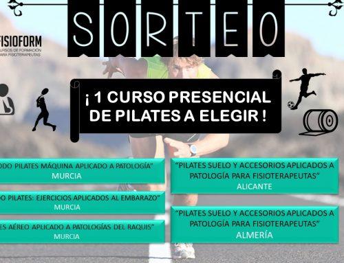 SORTEO CURSO PRESENCIAL PILATES