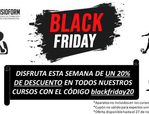 ¡LLEGA LA SEMANA DEL BLACK FRIDAY A FISIOFORM!