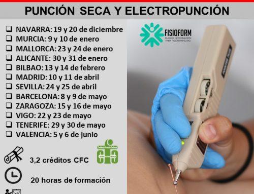 SORTEO EXPRESS CURSO PRESENCIAL PUNCIÓN SECA Y ELECTROPUNCIÓN