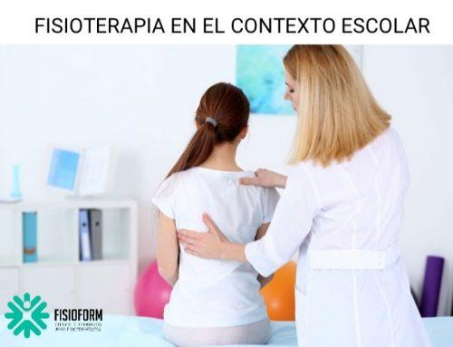 FISIOTERAPIA EN EL CONTEXTO ESCOLAR