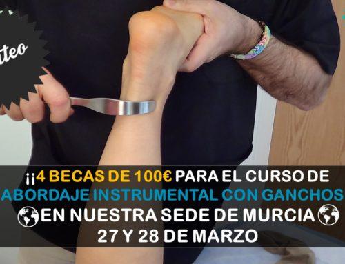 SORTEO EXPRESS 4 BECAS DE 100€ CURSO PRESENCIAL ABORDAJE INSTRUMENTAL CON GANCHOS (Murcia)