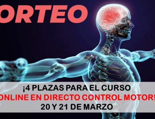SORTEO EXPRESS CURSO ONLINE EN DIRECTO: CONTROL MOTOR