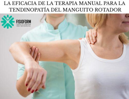 La eficacia de la terapia manual para la tendinopatía del manguito rotador: revisión sistemática y metanálisis