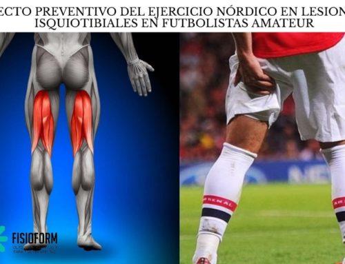 El efecto preventivo del ejercicio nórdico en lesiones de isquiotibiales en futbolistas amateur: un estudio controlado aleatorizado